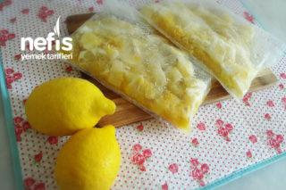 Buzluk İçin Acısız Limonata (Ramazana Hazırlık) Tarifi