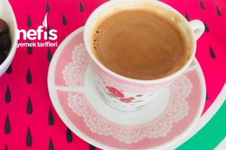 Dibek Kahvesi+Türk Kahvesi Karışımı Kahve Yapımı Tarifi