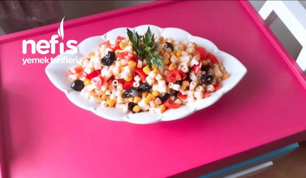 Yedikçe Yediren Makarna Salatası