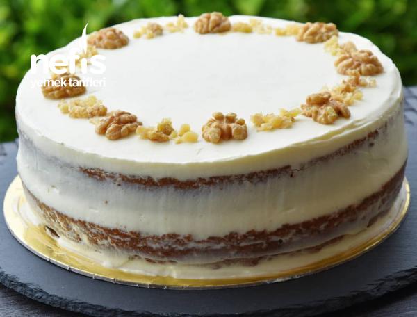 Havuçlu Pasta (Yapım Aşamalı)