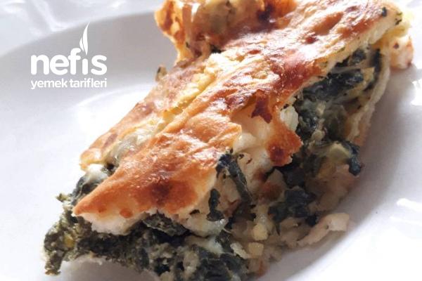 Spanakopita (Greek Pie) (Ispanaklı Börek) Tarifi