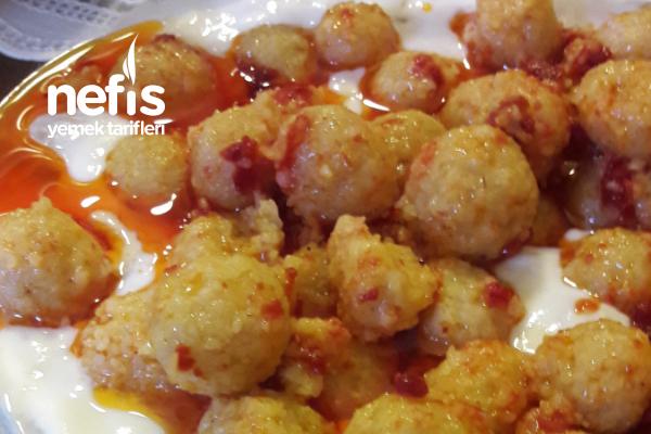 Köz Patlıcanlı Bulgur Köftesi Tarifi