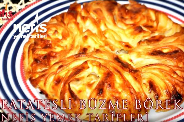 Patatesli Büzme Börek (Jelka Böreği)