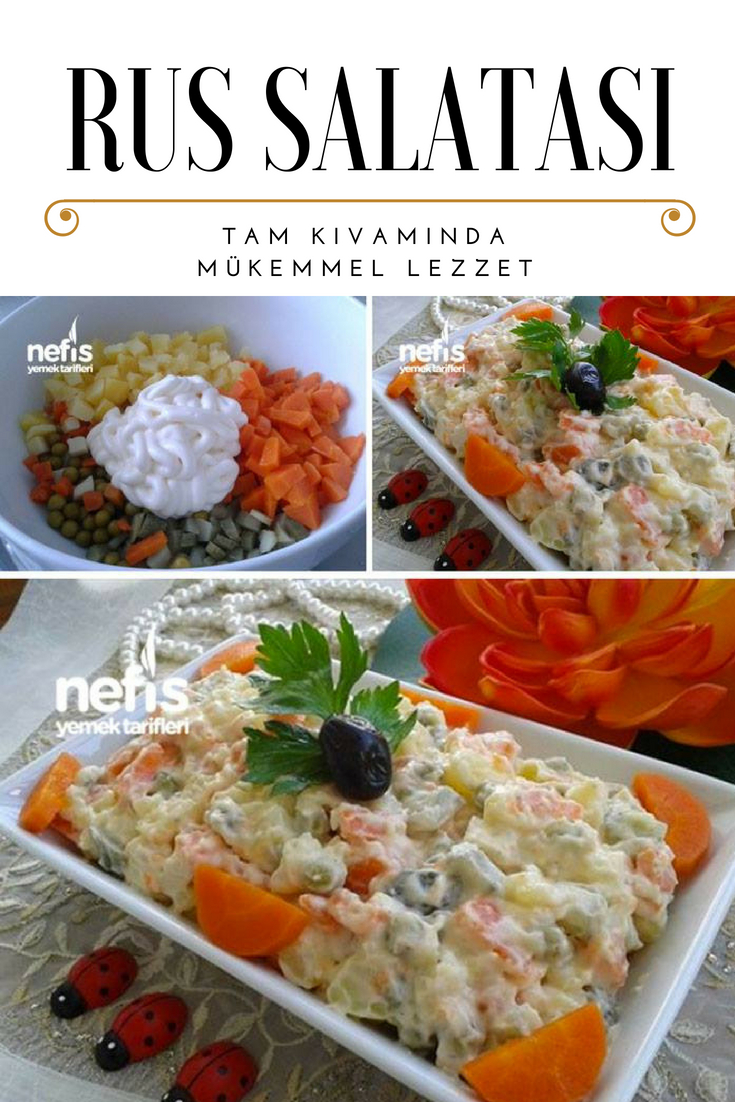 Rus Salatası Tarifi