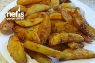 Fırında Kızartılmış Çıtır Patates Tarifi
