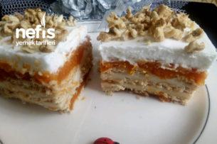 Kabaklı Bisküvi Pastası Tarifi