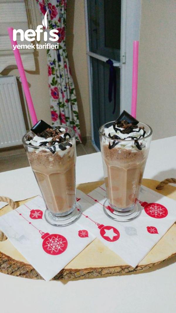 Double Çikolatalı Frappuccino (5 Dakikada Soğuk Çikolatalı Kahve)