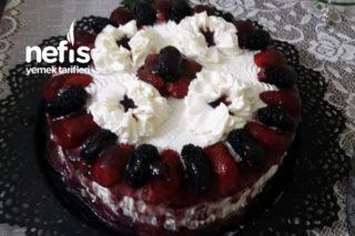Meyveli Yaz Pastası Tarifi