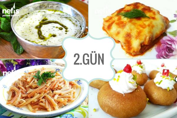 İftar menuleri – İftar İcin Yemek Tarifleri ikinci Gun