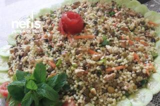 Cevizli Kuskus Salatası Tarifi