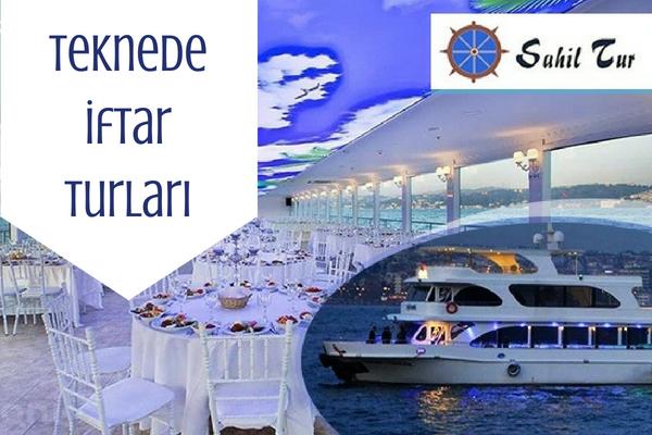 İstanbul Teknede İftar Yemeği Turları
