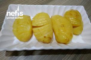 Fırın Poşetinde Yelpaze Patates Tarifi