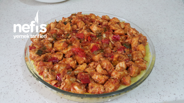 Fırında Patates Püreli Tavuk Sote