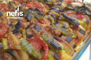 Fırında Sebzeli Köfte (Tam Misafirlik) Tarifi