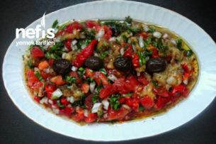 Lezzetlimi Lezzetli Patlıcan Salatası Tarifi