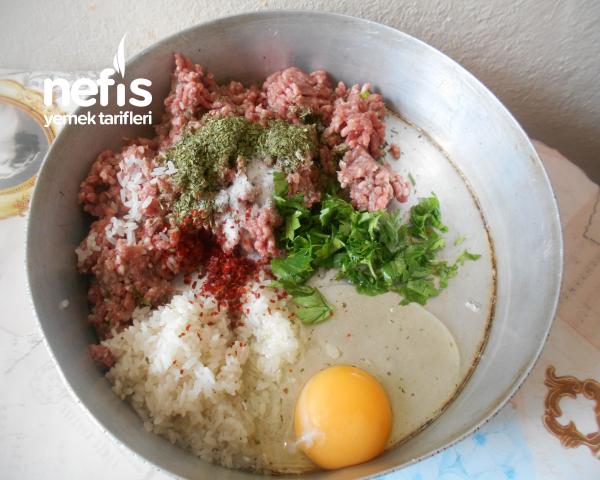 Mısır Unlu Pirinçli Sulu Köfte