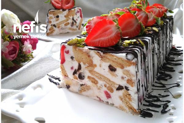 5 Dakikada Dondurma Tadında Pasta Tarifi