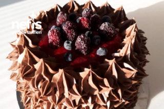 Çok Amaçlı Çikolatalı Pasta Kreması (İçinde Ve Dışında) Tarifi