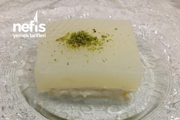 Limonlu Pelte (Yaz Akşamlarının Hafif Sağlıklı Tatlısı) Tarifi