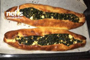 Peynirli Ispanaklı Pide Tarifi