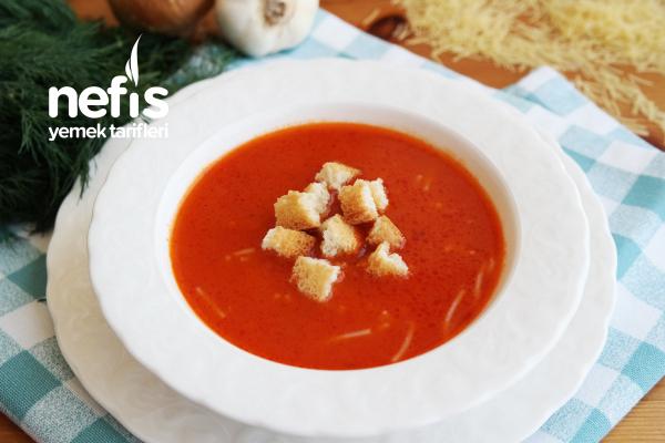 Tel Şehriye Çorbası Tarifi – Az malzemeli kolay çorba tarifi