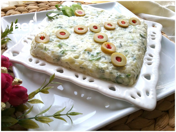 En Kolay En Lezzetli Salata(10 Dakikada)