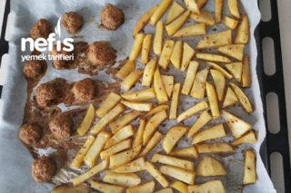 Fırında Köfte Patates (Diyete Uygun) Tarifi
