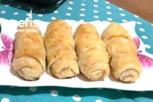 Ispanaklı Peynirli Rulo Börek (Sodalı) Tarifi