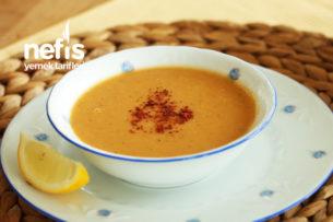 Tam Kıvamında Kırmızı Mercimek Çorbası Nasıl Yapılır? (videolu)