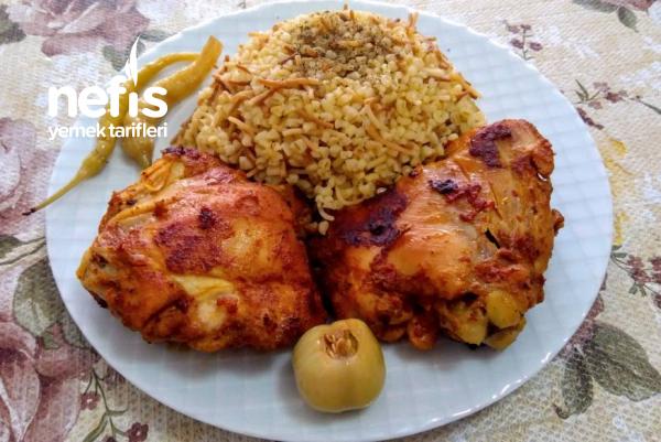 Enfes Lokum Tavuk (soslu tavuk pirzola)