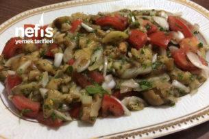Patlıcan Salatası (Közlenmiş) Tarifi