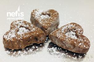 Yulaflı Muzlu Kalpli Çikolata Tarifi