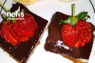 Çikolatalı Muhallebili Etimek Tatlısı Tarifi
