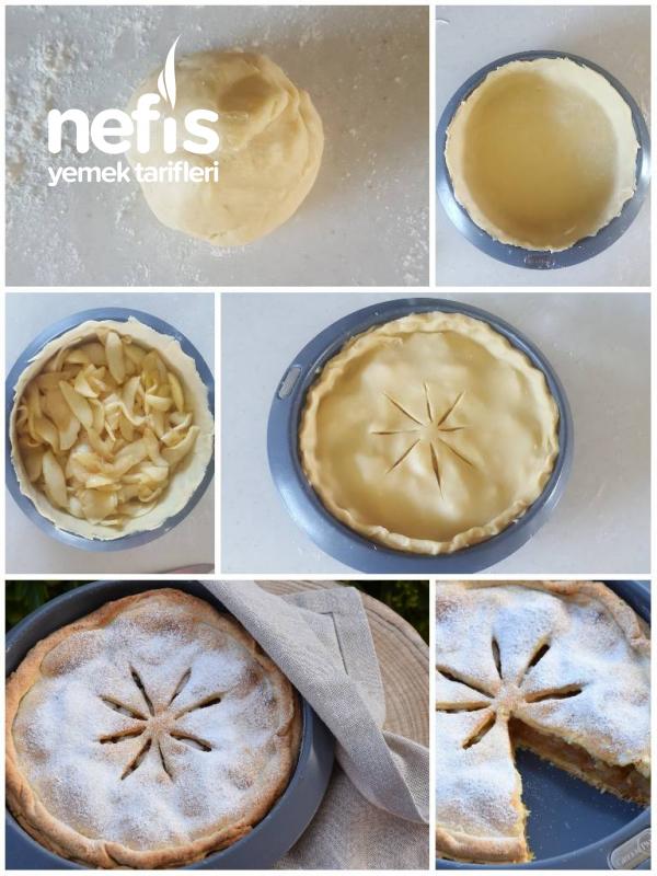 Elmalı Pay (yapım Aşamalı Pastane Usulü)