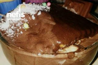 Enfes Dondurma Tadında Bisküvili Pasta Tarifi