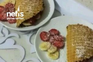 Evde Tost Makinesinde Waffle Tarifi