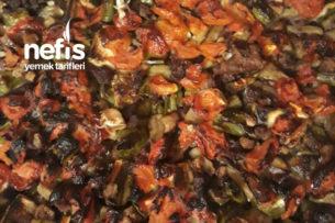 Kalabalık Misafirleriniz İçin Fırında Etli Sebze Kebabı Tarifi
