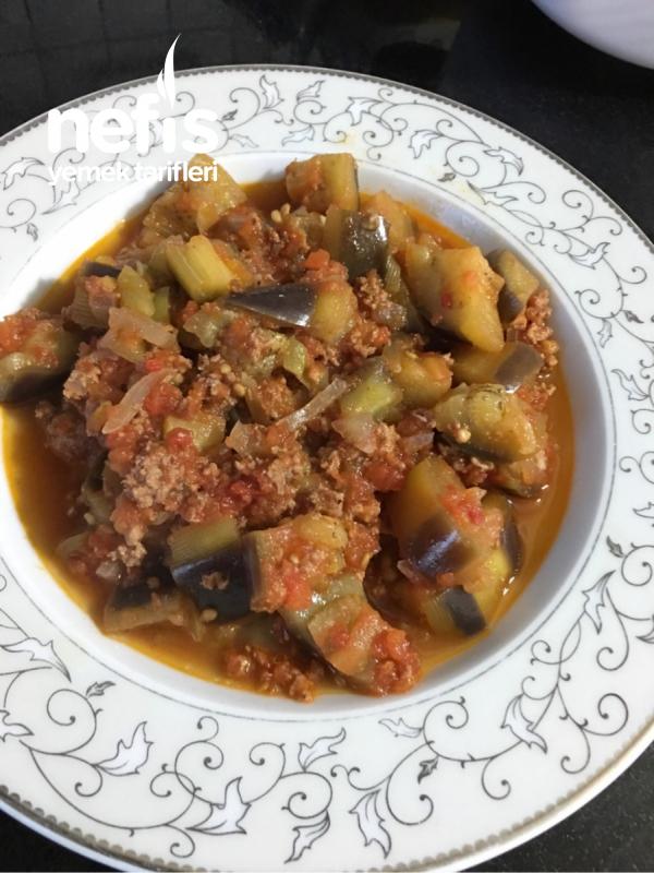 Kebap Tadında Patlıcan Musakka (kızartmadan Kebap Tadında)