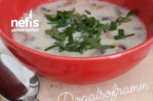 Kremalı Tadında Mantar Çorbası Tarifi