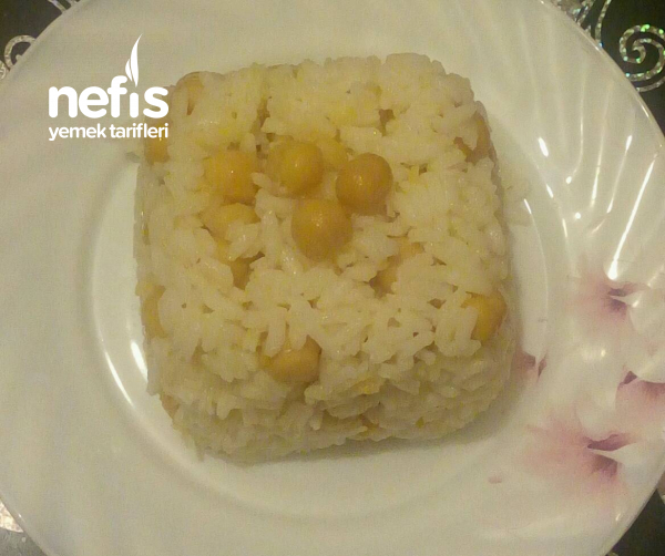 Nohutlu Terayağlı Pirinç Pilavı