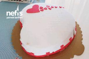 Şeker Hamurlu Frambuazlı Yaş Pasta Tarifi