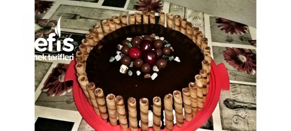 Çikolatalı Pasta (hazır Pandispanyadan)