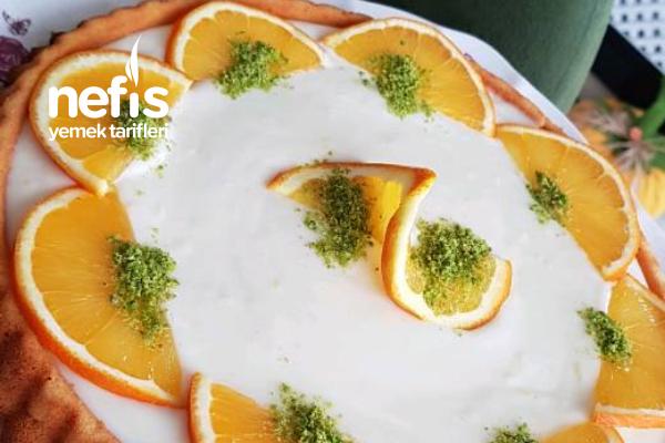 Portakallı Soslu Kek Tarifi