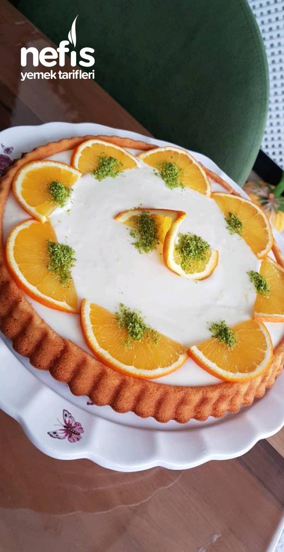 Portakallı Soslu Kek