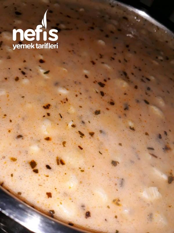 Sütlü Patates Çorbası