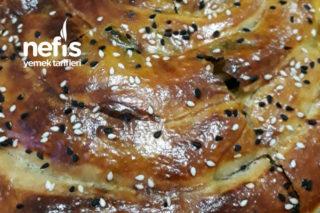 Ispanaklı El Açması Börek Tarifi