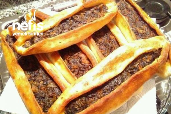 Ispanaklı Pidem (lezzet Garantili) Tarifi