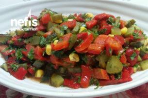 Kapya Biber Salatası Tarifi