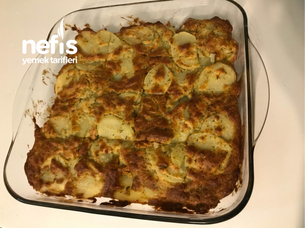 Patatesli Tuzlu Kek