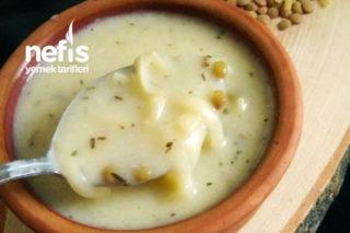 Yeşil Mercimekli Erişte Çorbası Tarifi
